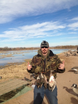 A lucky day hunting in Cibola
